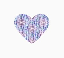 Geometric Star Maze Pattern Unisex T-Shirt