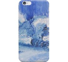 The Blue Cat Sleeping iPhone Case/Skin