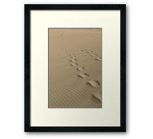 Explore Freely Framed Print