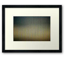 Screen at SFO Framed Print