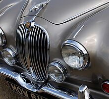 Jaguar mark 2 headlights, bonnet grill & symbol by buttonpresser