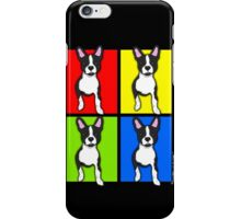 Inquisitive Boston Terrier Pop Art iPhone Case/Skin