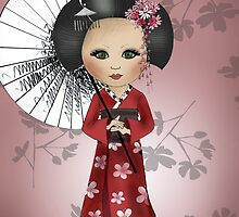 Little Geisha by Kristy Spring-Brown