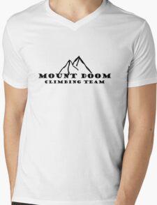 Mount Doom Climbing Team Mens V-Neck T-Shirt