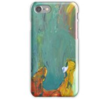 Yellow Lamp and Lucky Bambo iPhone Case/Skin