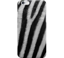 Zebra Texture iPhone Case/Skin