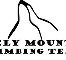 Lonely Mountain Climbing Team by John Kelly