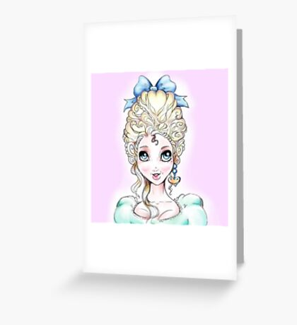 ~Marie~ Greeting Card