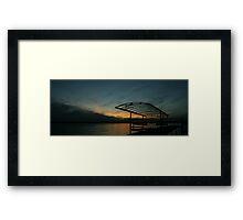 """Sunset Cove II, Madison Wisconsin, 2010"" Framed Print"