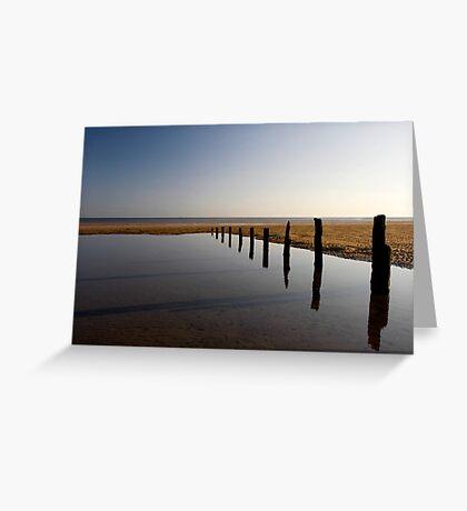 Brancaster Beach, Norfolk Greeting Card