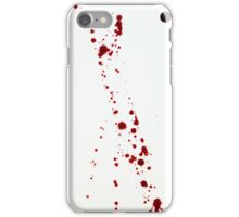 Blood Spatter 4 iPhone Case/Skin