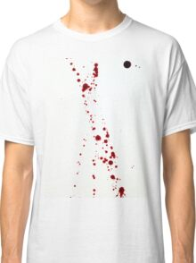 Blood Spatter 4 Classic T-Shirt
