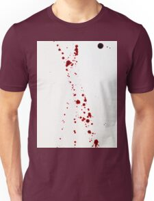Blood Spatter 4 Unisex T-Shirt