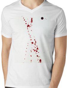 Blood Spatter 4 Mens V-Neck T-Shirt