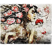 Persephone and the Pomegranate Photographic Print