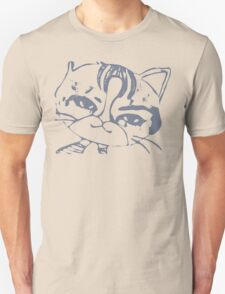 The one-eared cat Unisex T-Shirt