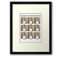 Dorothy Zbornak Framed Print