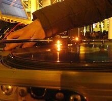 Turntables at Night by L.D. Bonner