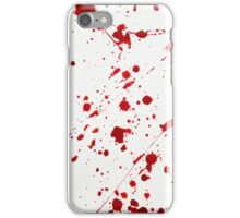 Blood Spatter 6 iPhone Case/Skin