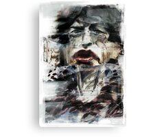 Mick Jagger - Lips Canvas Print