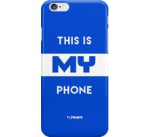 This Is My Phone Case Dark Blue iPhone Case/Skin
