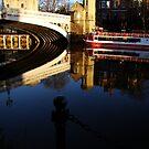 """So Blue - So Still  - The River Ouse - Lendal Bridge - York"" by Diane Thornton"