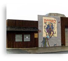 rodeo Canvas Print