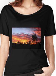 Sunset, Redland Bay, Qld, Australia Women's Relaxed Fit T-Shirt