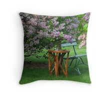 A Beautiful Place To Relax Throw Pillow