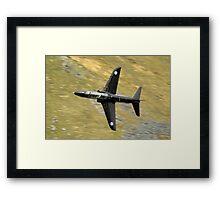 Hawk jet Framed Print