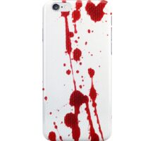 Blood Spatter Knife Cast Off iPhone Case/Skin