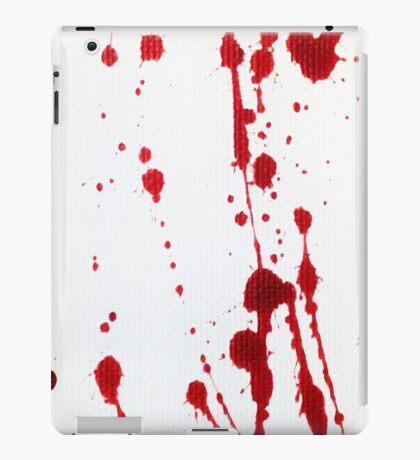 Blood Spatter Knife Cast Off iPad Case/Skin