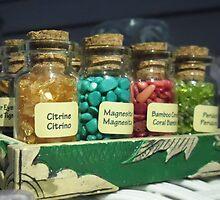 Bottles of gems by Shadowfudo