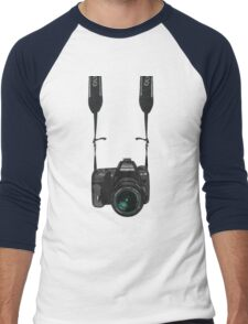 I am a photographer Men's Baseball ¾ T-Shirt
