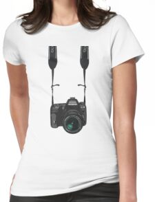 I am a photographer Womens Fitted T-Shirt