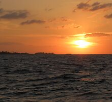 Nassau Sunset by Bonnie Robert