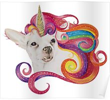 Rainbow Chihuacorn Poster