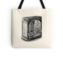 Bird seed for happy canaries Tote Bag