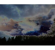Mystical Cloudscape Photographic Print