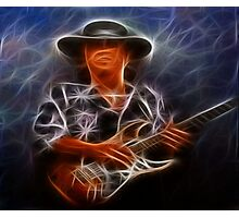 SRV Neon Photographic Print
