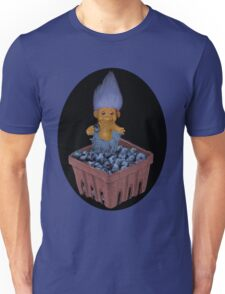 ❀◕‿◕❀TROLL LOVING BLUEBERRIES TEE SHIRT SO CUTE ❀◕‿◕❀LOL Unisex T-Shirt