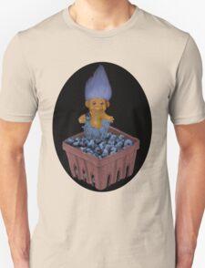 ❀◕‿◕❀TROLL LOVING BLUEBERRIES TEE SHIRT SO CUTE ❀◕‿◕❀LOL Unisex T-Shirt