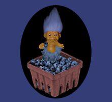 ❀◕‿◕❀TROLL LOVING BLUEBERRIES TEE SHIRT SO CUTE ❀◕‿◕❀LOL T-Shirt