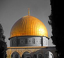 Dome of the Rock by SeanTrostrud