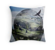 heading for home... Throw Pillow