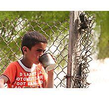 Bedouin Boy 1 Photographic Print