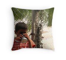 Bedouin Boy 2 Throw Pillow