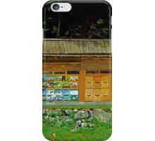 Beehives in Slovenia iPhone Case/Skin