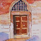 Golden Venetian Doorway by Christiane  Kingsley