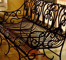 Wrought Iron Rest ^ by ctheworld